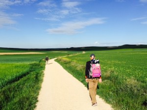 Walking on the Meseta Spreading Information about Lewy Body Dementia